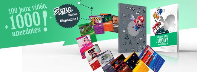 «100 jeux, 1000 anecdotes» aux Editions Pix'n Love