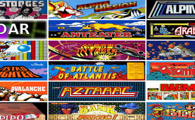 900 jeux d'arcade jouables gratuitement dans votre navigateur web